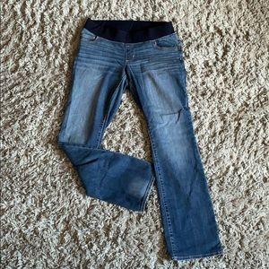 Liz Lange Boot Cut Maternity Jeans